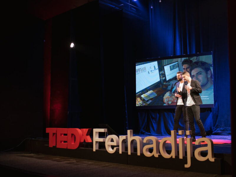 TEDxFerhadija – Can your background be your superpower – Adi & Mak Omanović